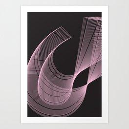Geometric Calendar - Day 28 Art Print