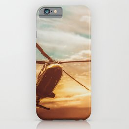 Evening Flight iPhone Case