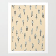 Peeps Art Print