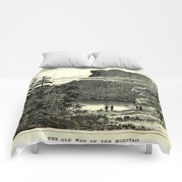 The Old Man of the Mountain Comforters
