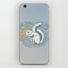 Fearless Creature: Chippy iPhone & iPod Skin