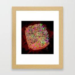 JIZZ 2 Framed Art Print
