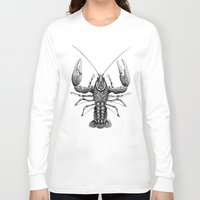 cancer Long Sleeve T-shirts featuring Cancer by PAgata