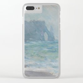 Regnvær, Etretat Clear iPhone Case