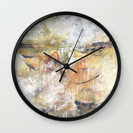 Stormy Times Past, Moving Forward Wall Clock