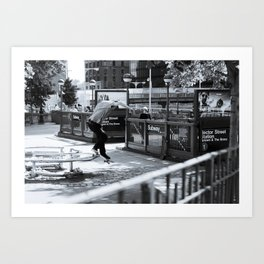 Erik Moe - Gap Back Smith  Art Print