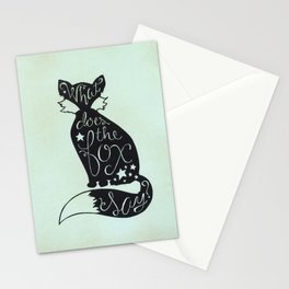 What Does The Fox Say? Stationery Cards