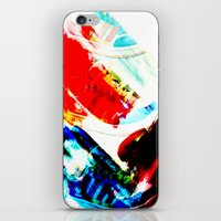 hipster iPhone & iPod Skins featuring Hipster  by mcmerriweather