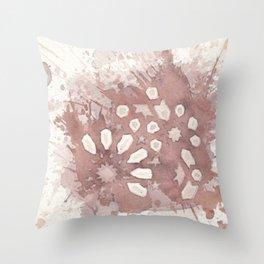 Cellular Geometry No. 2 Throw Pillow