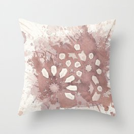 Cellular Geometry No. 2 Throw Pillow