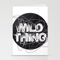 the thing Stationery Cards featuring Wild Thing by feigenherz BAM