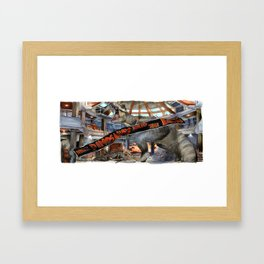 Jurassic Park - When Dinosaurs Ruled the Earth Framed Art Print