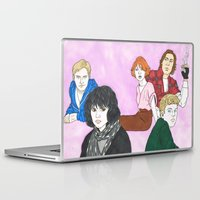 the breakfast club Laptop & iPad Skins featuring The Breakfast Club by Lucan Joshua Jackson