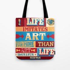 Life and Art Tote Bag