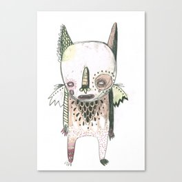 Random Monster Drawing 01 Canvas Print