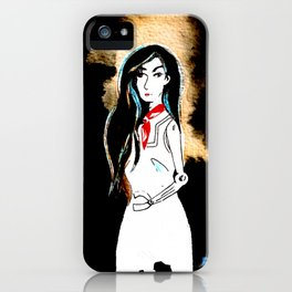 Caroline iPhone Case
