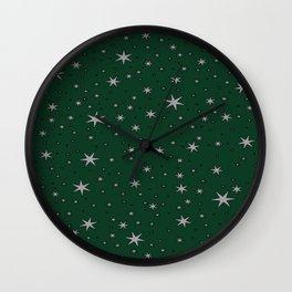 Slytherin Chapter Stars Wall Clock