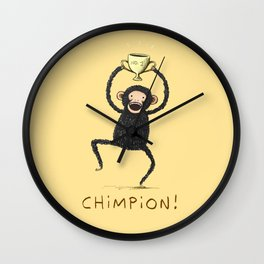 Chimpion Wall Clock