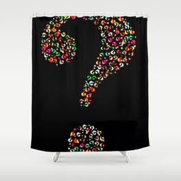 I Dunno Shower Curtain