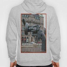 Monument to Nonviolence, Malmo, Sweden Hoody