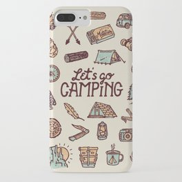 Lets Go Camping iPhone Case