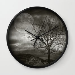 February Tree Wall Clock