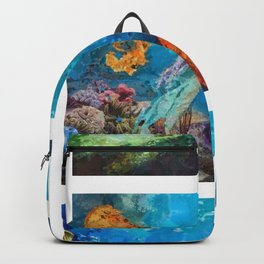 Into Deep Triptych Backpack