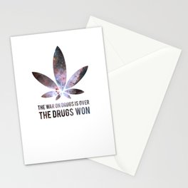The Drugs Won (3) Stationery Cards
