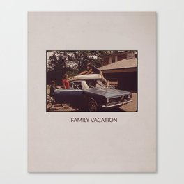 FAMILY VACATION Canvas Print