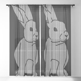 White Rabbit Sheer Curtain