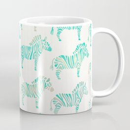 Zebras – Mint Palette Coffee Mug