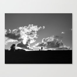 """Watch Dog"" Canvas Print"