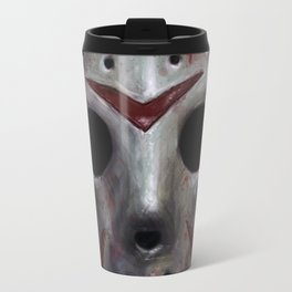 Happy Friday Mask Travel Mug