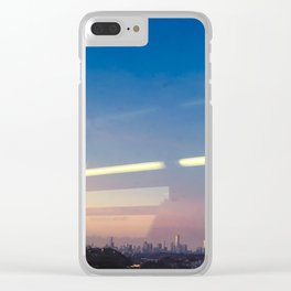 Abstract subway views Clear iPhone Case