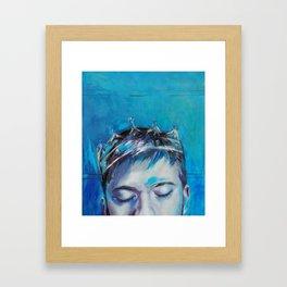 Clear Blood Framed Art Print