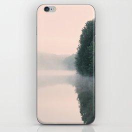 Fog Covered Lake iPhone Skin
