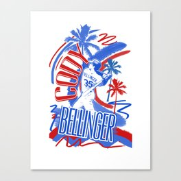 Bellinger Bomb Canvas Print