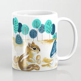 Fall Chipmunk Coffee Mug