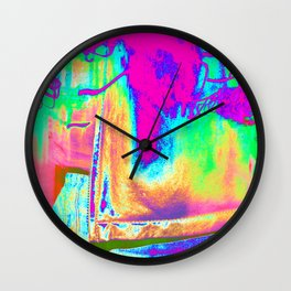 Technicolor Jacket Wall Clock