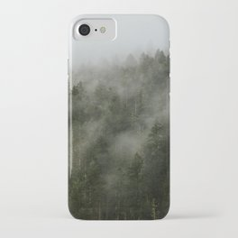 Pacific Northwest Foggy Forest iPhone Case
