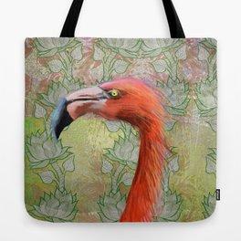 Red big bird Tote Bag