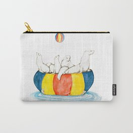 Sea Lion Haulout Rock Carry-All Pouch