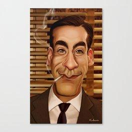Don Draper Canvas Print