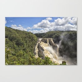 Magnificent Barron Falls in Queensland Canvas Print