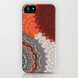 Boho Love Mandelas iPhone Case