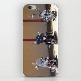 Motorcycle Parade iPhone Skin