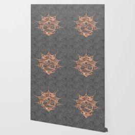 Copper Frog Smoke Wallpaper