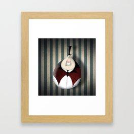 Mr Caramel Framed Art Print