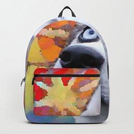 Dreaming Husky Backpack