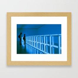 La Vie en Bleu Framed Art Print